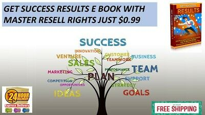 GET SUCCESS RESULTS PDF E BOOK WITH MASTER RESELL RIGHTS JUST $0.99