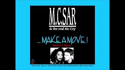 M.C. Sar & The Real McCoy Make a Move! Remix Cassette Tape (Sealed) 1995 RARE!