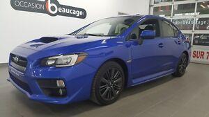 2015 Subaru WRX Sport, toit ouvrant, caméra de recul, sièges cha