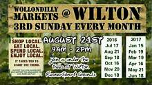 Wollondilly Markets at Wilton - Sunday 21st August, 2016 Wilton Wollondilly Area Preview