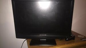 Xbox 360 with all cords and 22 games and a tv