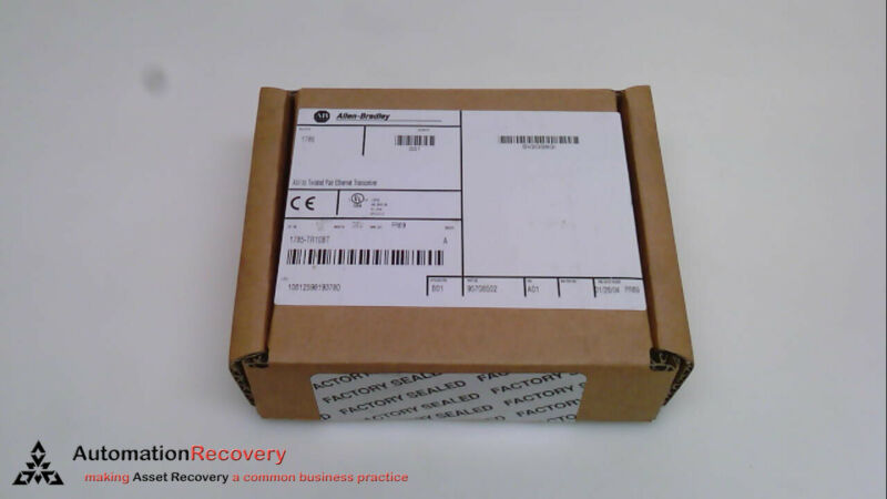 ALLEN BRADLEY 1785-TR10BT SERIES A TWISTED PAIR TRANSCEIVER AUI, NEW #241245