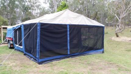 Camper Trailer - with extra detachable annex (rare) - SOLD