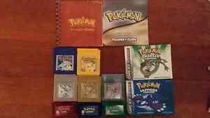 Assorted Pokemon Game Boy Color and Advance Games Gilmore Tuggeranong Preview