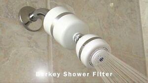 berkey kdsf shower filter with massage massaging head uk based no import tax. Black Bedroom Furniture Sets. Home Design Ideas