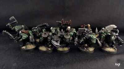 Usado, Warhammer 40k Ork Boyz with Nob x 11 Pro Painted segunda mano  Embacar hacia Spain