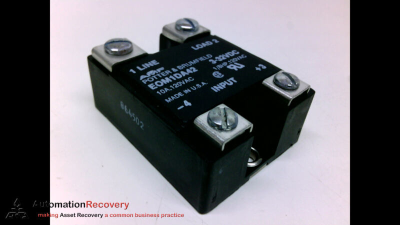 Potter And Brumfield Eom1da42, Solid State Relay, Eom-1da42-3/32, New* #205087