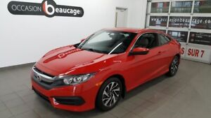 2016 Honda Civic Coupe LX, caméra recul, mags, sièges chauffants