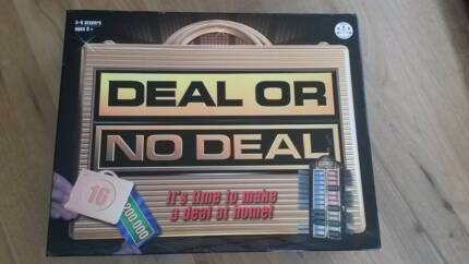 DEAL OR NO DEAL Board Game Dodges Ferry Sorell Area Preview