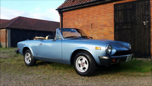 1981 Fiat Spider For Sale.
