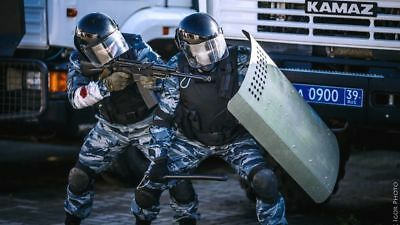 Russian Omon Police Anti-riot Shockproof Metal Shield