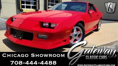 1992 Chevrolet Camaro RS Red 1992 Chevrolet Camaro Coupe 305 CID TBI V8 4 Speed Automatic Available Now!