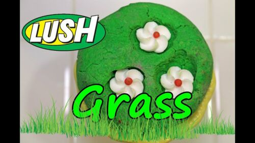 Lush Cosmetics UK Kitchen VERY RARE  GRASS Bubble Bar DISCONTINUED Multiple Uses