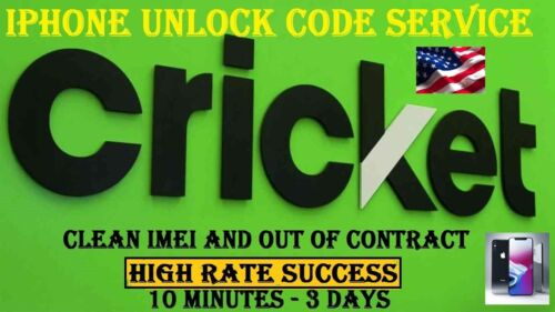CRICKET EXPRESS  IPHONE UNLOCK SERVICE 5 5S 5c 6 7 7+ 8 X