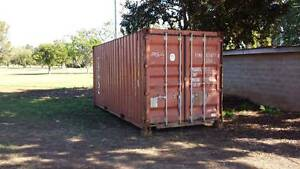 Shipping Container 20ft. Two to choose from. Bargara Bundaberg City Preview