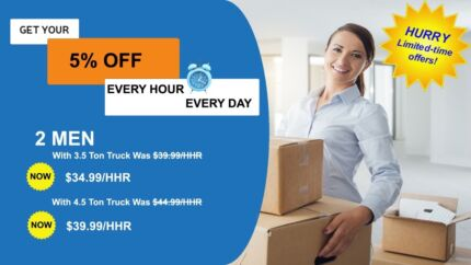 FRIENDS MOVERS & REMOVALS FROM $35/PHH MAN WITH TRUCK