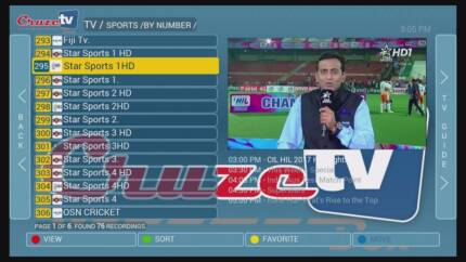 Cruze TV 4k/  Real hybrid TV HD Box