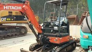 Hitachi Excavator ZX27U-3F 2014 Model 1,000 Hrs Buckets Drive   Augers Rathmines Lake Macquarie Area Preview