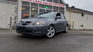 2008 Mazda MAZDA3 GT|NO ACCIDENT|ALLOYS|SUNROOF|