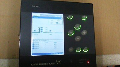 Grundfos Cu3510 Hmi Control Panel Product 96161620-v05 100-240vac