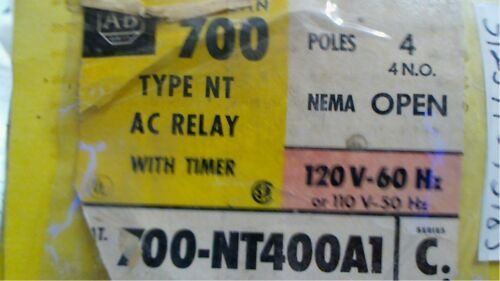 Allen Bradley 700-NT400A1 /C   Relay Pneumatic Timing 700nt400a1 free shipping