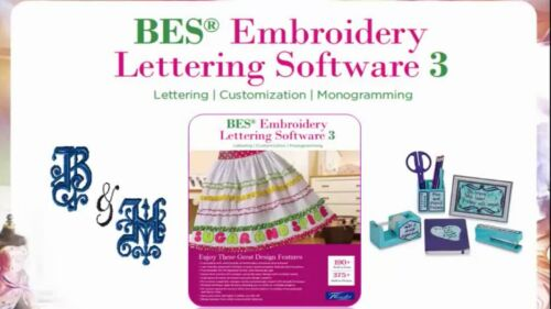 BES Embroidery Lettering Software 3