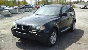BMW X3 4 portes, traction intégrale, 3,0i