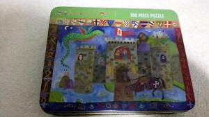 Mud Puppy Knights 100 pc puzzle bargain Heathridge Joondalup Area Preview