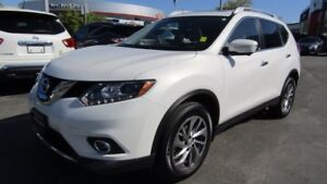 2015 Nissan Rogue SL HEATED LEATHER W/ MEMORY!