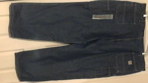 New Carhartt FR Carpenter-Style Safety Work Jeans ( 48 X 30 ) Blue W / O Tags