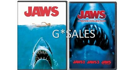 Jaws Complete Movie Series Jaws 1 2 3   4  The Revenge   Brand New Dvd Set