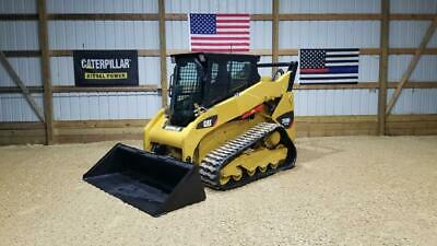 2013 Caterpillar 259b3 Cab Heat Air Track Skid Steer Loader Cat 259