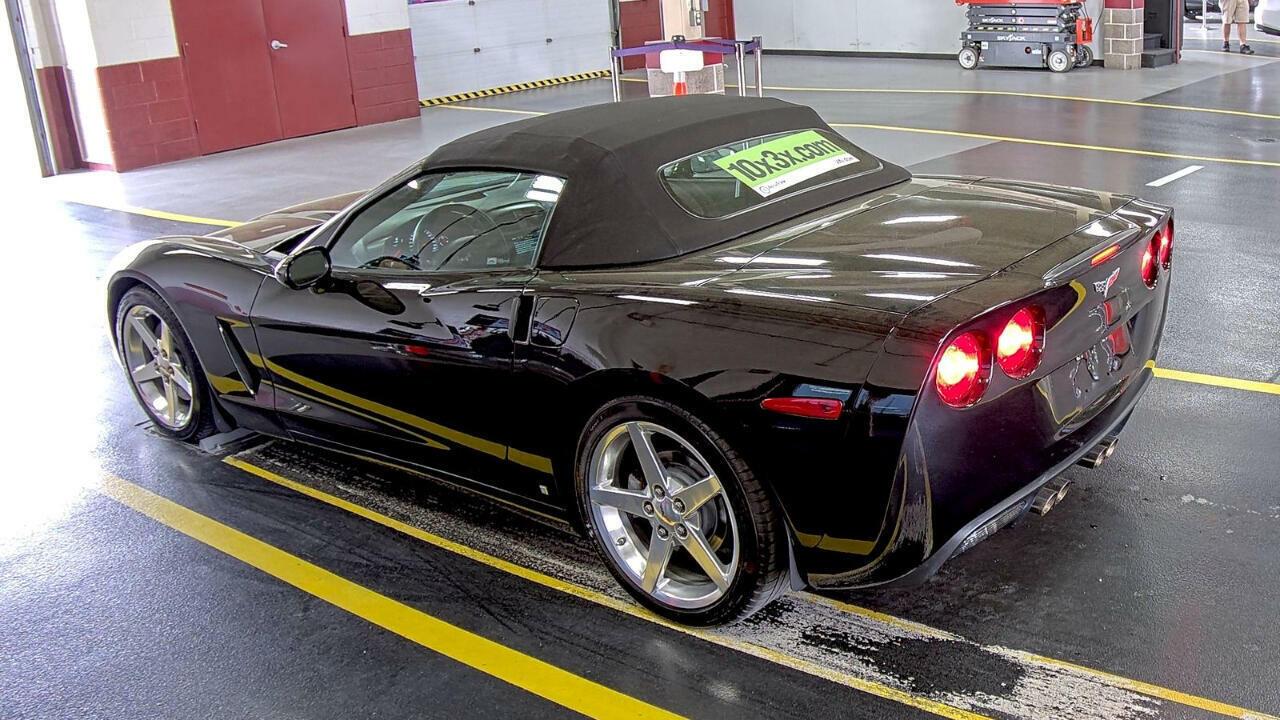 2006 Black Chevrolet Corvette Convertible  | C6 Corvette Photo 6