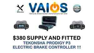TEKONSHA PRODIGY P3 BRAKE CONTROLLER $380 SUPPLY AND FITTED Brisbane City Brisbane North West Preview