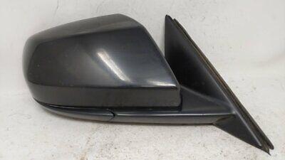 2013-2013 Cadillac Ats Passenger Right Side View Power Door Mirror Black 64672