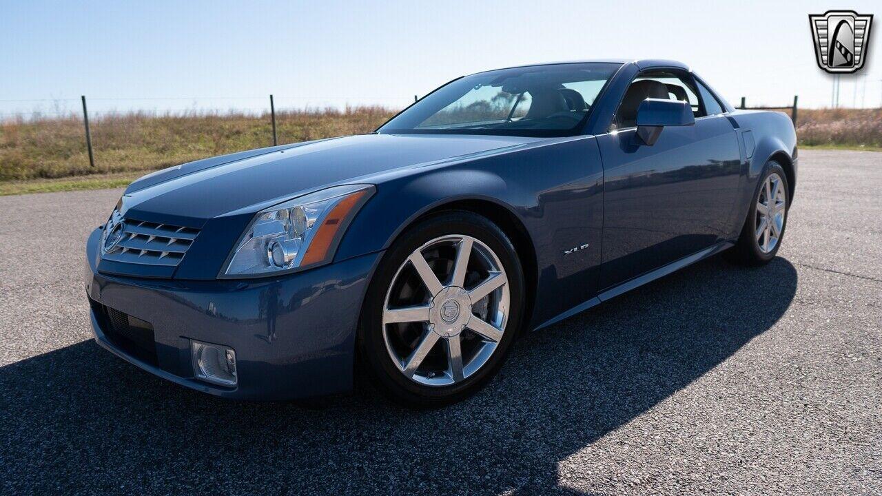 Blue Steel 2005 Cadillac XLR  4.6L V8    F DOHC 5 Speed Automatic w/ OD Availabl
