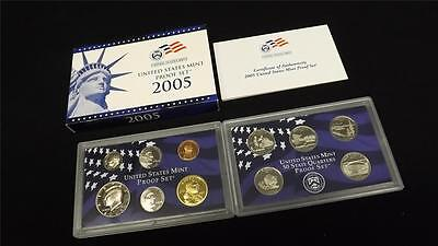 2005 S US Mint Proof 11 Coin Set