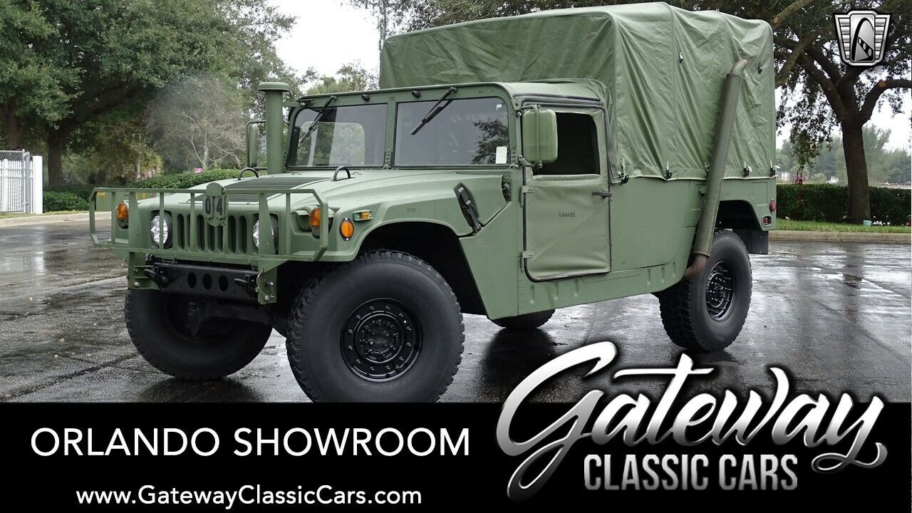 Green 1985 AM General HMMWV Truck 6.2L V8 Diesel Automatic Available Now!