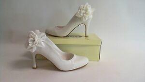 Tonos Zapatos De Novia - 915-Invierno Blanco (Marfil) - UK 5 #7B518