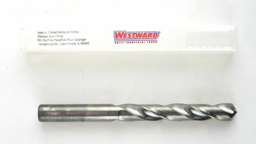 "WESTWARD Carbide Jobber Drill 13/32"" 118° 5VPC5"