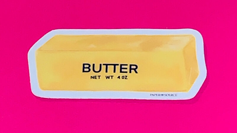 Butter Sticker 🧈🧈🧈🧈🧈 Yum 😋🧡❣️❣️❣️