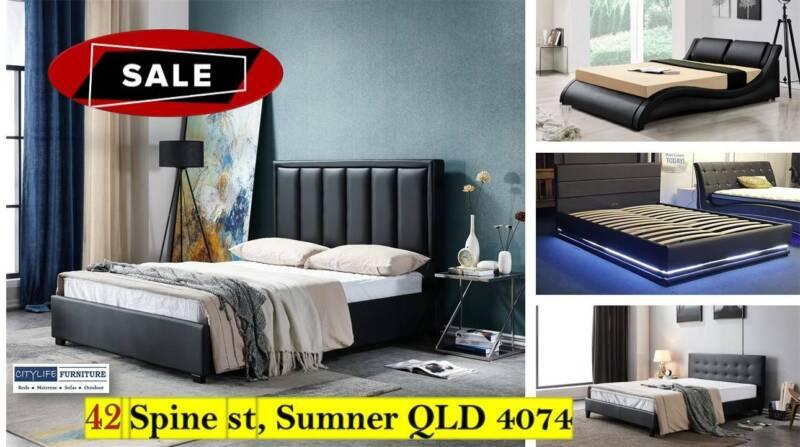 NY2020 WINTER SALE - 14 DESIGNER BED FRAMES - CLEARANCE SALE | Beds |  Gumtree Australia Brisbane Region - Brisbane North West | 1180750094