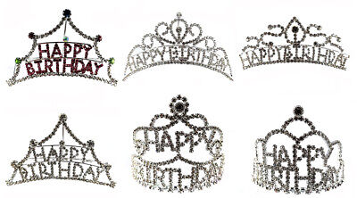 Birthday Tiaras (Kids Girl Crystal Rhinestone