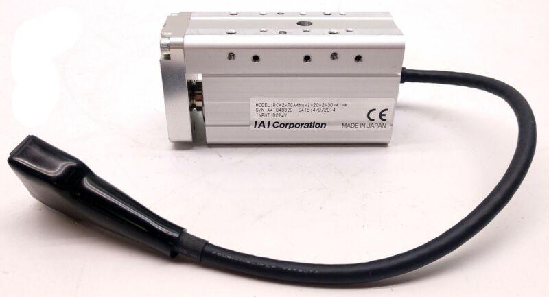 IAI Robo Cylinder RCA2-TCA4NA-I-20-2-30-A1-M Linear Actuator, Input: 24VDC