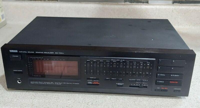 JUST SERVICED! Yamaha EQ-1100U Equalizer with Spectrum Analyzer