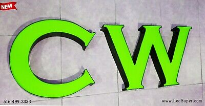 Newled Sign Channel Letters 12 - Customize Orders