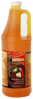 Macadamia Nut Cooking Oil Haleiwa Heat 32 Oz