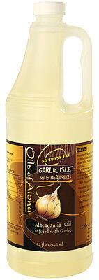 Macadamia Nut Cooking Oil Garlic Isle 32 Oz