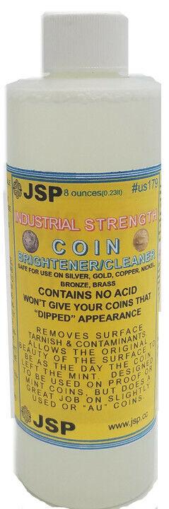 Coin Brightener & Cleaner for Gold, Silver, Copper, Nickel, Bronze, etc.