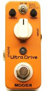 Mooer pédale ultradrive distortion guitare